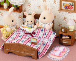 SYLVANIAN-FAMILIES-semi doble cama